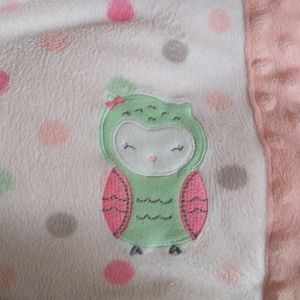Child of Mine Owl Baby Blanket Security Lovey Lovi
